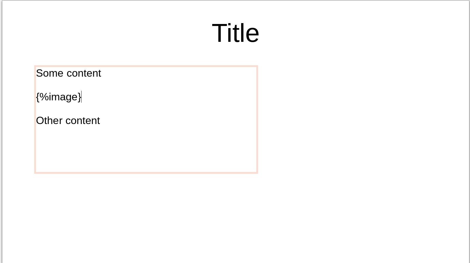 docxtemplater - Module image